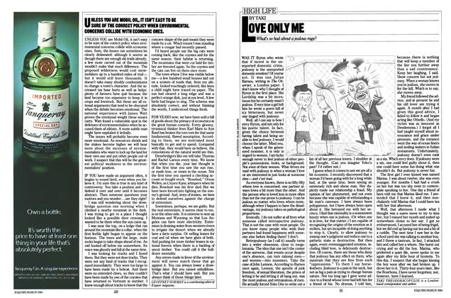 Article Preview: LOVE ONLY ME, MARCH 1984 1984 | Esquire