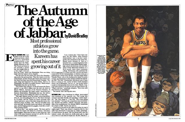 Article Preview: The Autumn of the Age of Jabbar, March 1984 | Esquire