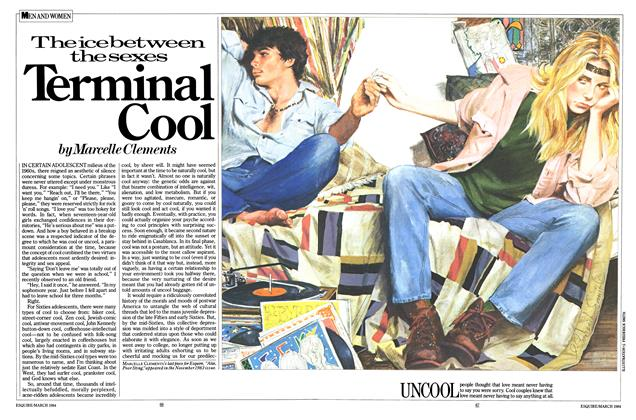 Article Preview: Terminal Cool, March 1984 | Esquire