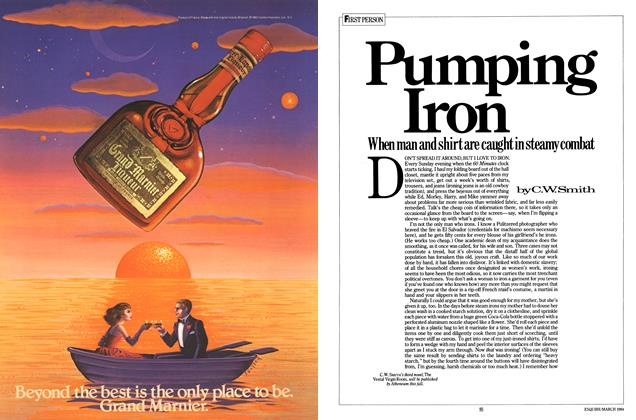 Article Preview: Pumping Iron, March 1984 | Esquire