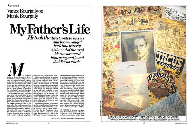 Article Preview: My Father's Life, March 1984 | Esquire