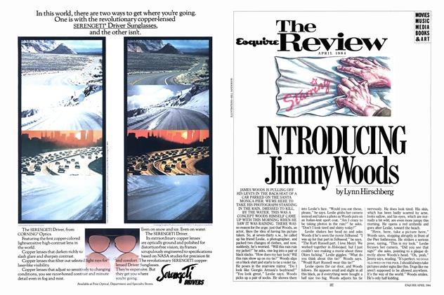 Article Preview: Introducing Jimmy Woods, APRIL 1984 1984 | Esquire