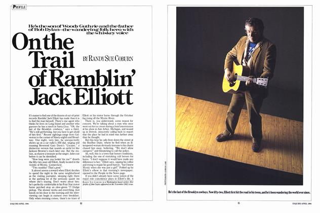 On the Trail of Ramblin' Jack Elliott