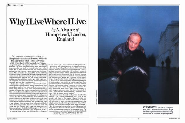 Article Preview: Why I Live Where I Live, APRIL 1984 1984 | Esquire