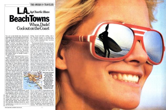 Article Preview: L.a. Beach Towns, APRIL 1984 1984 | Esquire