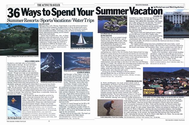 36 Ways to Spend Your Summer Vacation