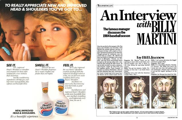 Article Preview: An Interview with Billy Martini, MAY 1984 1984 | Esquire