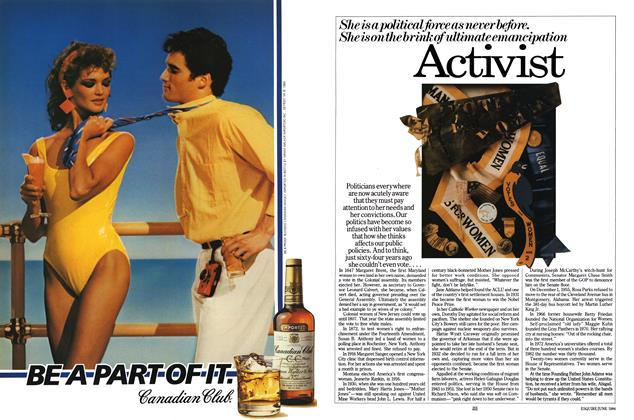 Article Preview: Activist, JUNE 1984 1984 | Esquire
