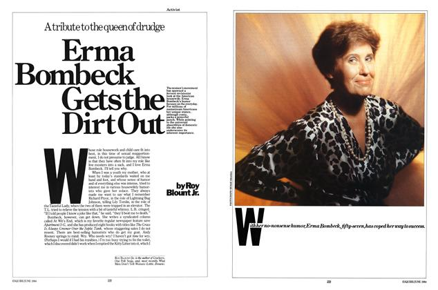 Article Preview: Erma Bombeck Gets the Dirt Out, JUNE 1984 1984   Esquire
