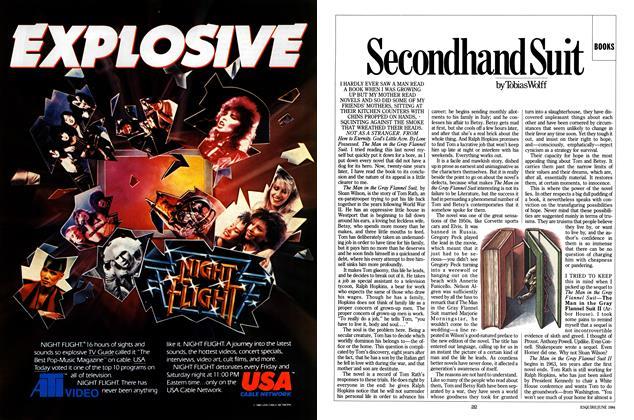 Article Preview: Secondhand Suit, June 1984 | Esquire