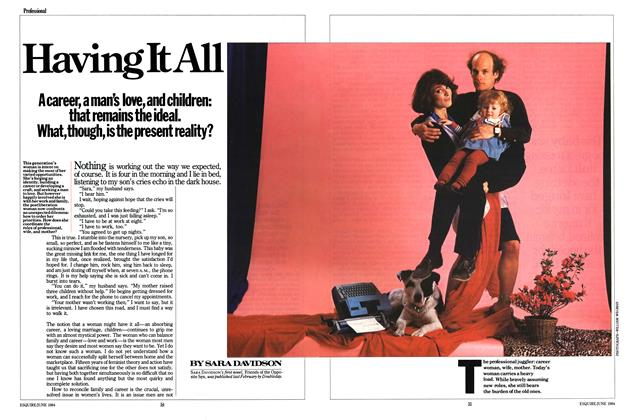 Article Preview: Having It All, JUNE 1984 1984 | Esquire
