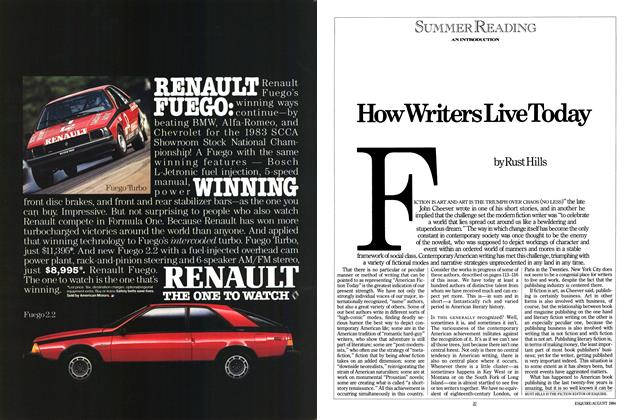 Article Preview: How Writers Live Today, AUGUST 1984 1984 | Esquire