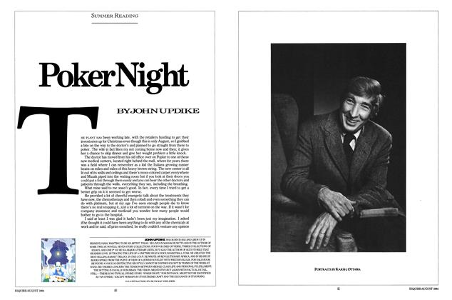 Article Preview: Poker Night, AUGUST 1984 1984   Esquire