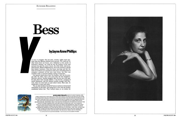 Article Preview: Bess, AUGUST 1984 1984 | Esquire