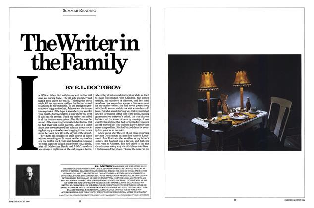 Article Preview: The Writer in the Family, AUGUST 1984 1984 | Esquire
