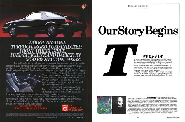 Article Preview: Our Story Begins, AUGUST 1984 1984 | Esquire