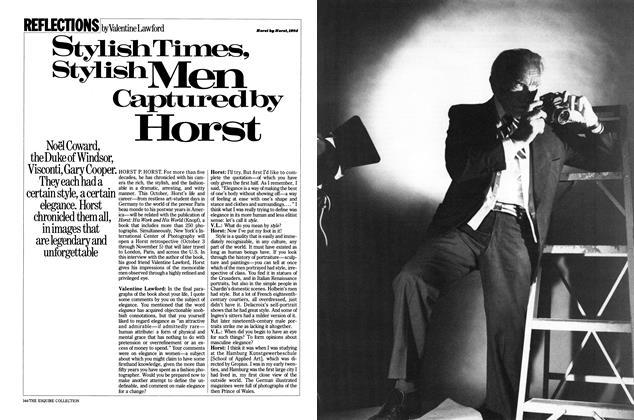Stylish Times, Stylish Men Captured By Horst