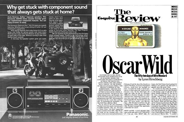 Article Preview: Oscar Wild, September 1984 | Esquire