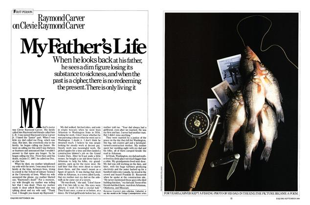 Article Preview: My Father's Life, SEPTEMBER 1984 1984 | Esquire