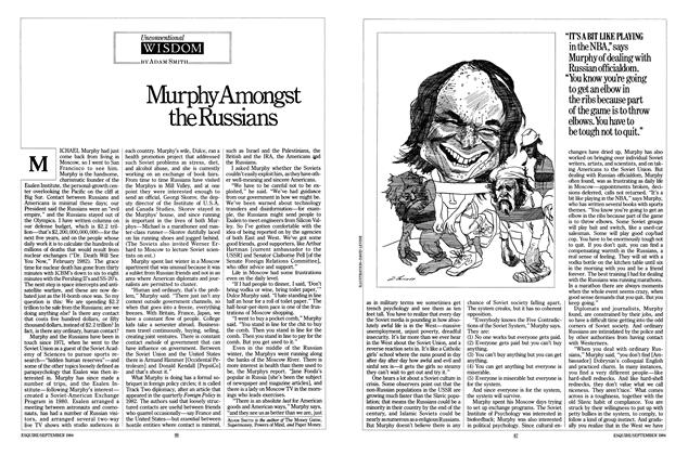 Article Preview: Murphy Amongst the Russians, SEPTEMBER 1984 1984 | Esquire