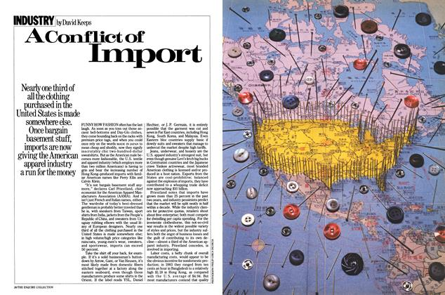 A Conflict of Import