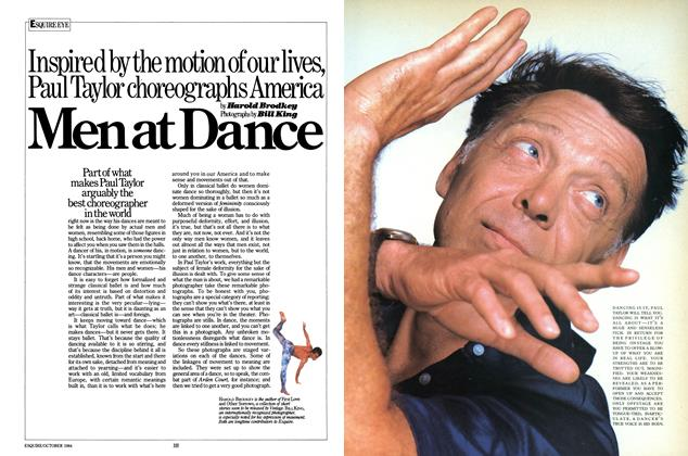 Article Preview: Men at Dance, OCTOBER 1984 1984 | Esquire