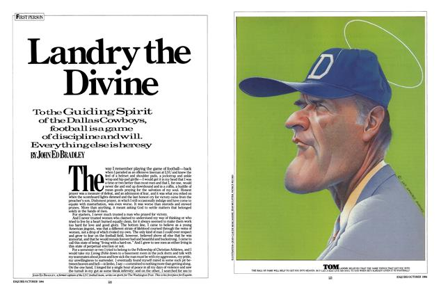 Article Preview: Landry the Divine, OCTOBER 1984 1984 | Esquire