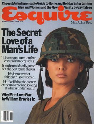 NOVEMBER 1984 | Esquire