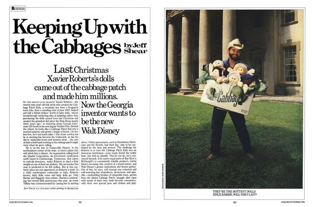 Article Preview: Keeping Up with the Cabbages, NOVEMBER 1984 1984 | Esquire