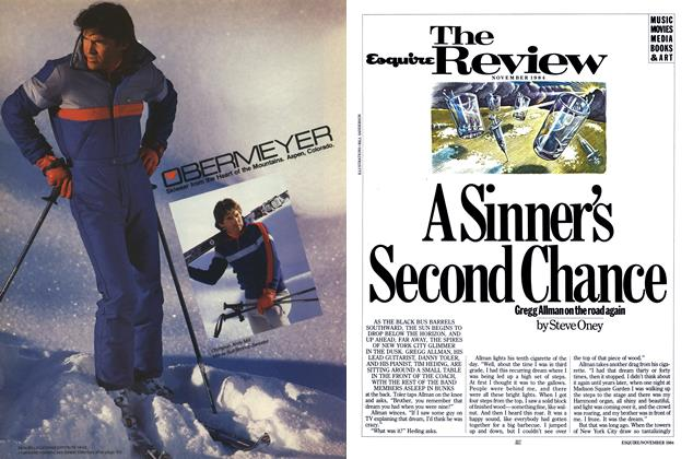Article Preview: A Sinner's Second Chance, NOVEMBER 1984 1984 | Esquire