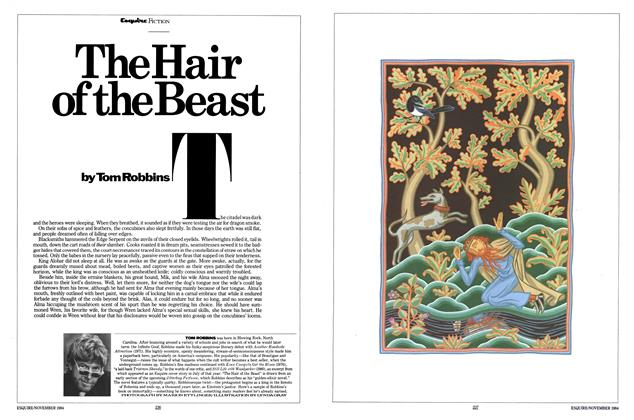 Article Preview: The Hair of the Beast, NOVEMBER 1984 1984 | Esquire