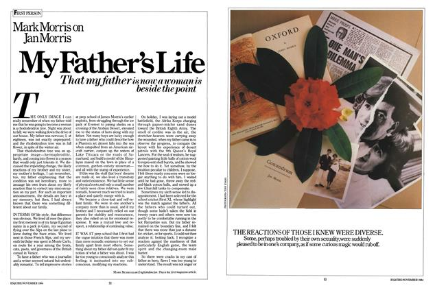 Article Preview: My Father's Life, NOVEMBER 1984 1984 | Esquire