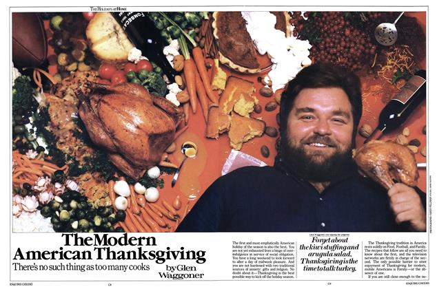 Article Preview: The Modern American Thanksgiving, November 1984 | Esquire