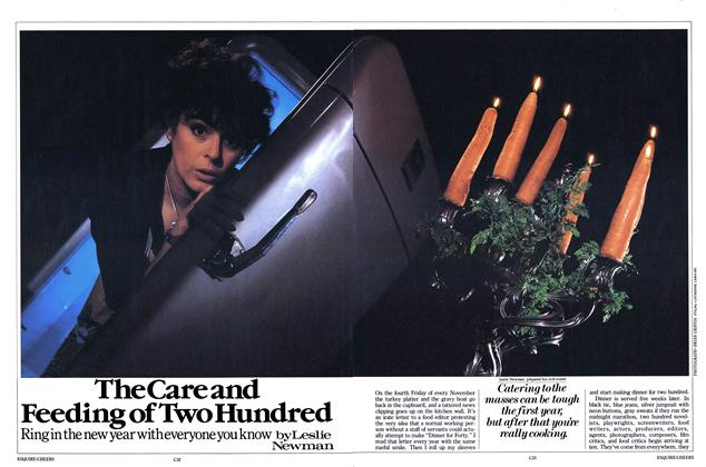 Article Preview: The Care and Feeding of Two Hundred, November 1984 | Esquire