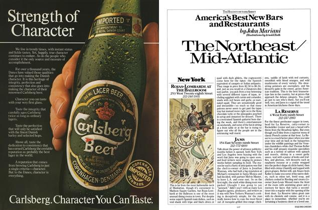 Article Preview: America's Best New Bars and Restaurants, November 1984 | Esquire