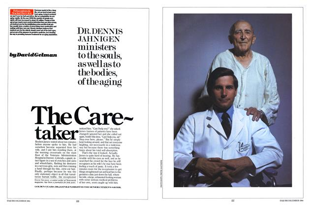 Article Preview: The Caretaker, DECEMBER 1984 1984 | Esquire