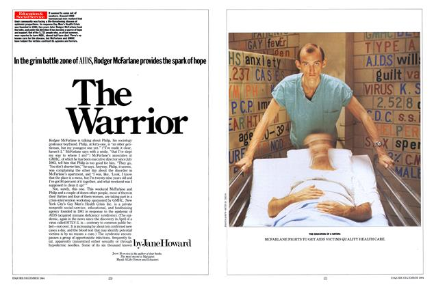 Article Preview: The Warrior, December 1984 | Esquire