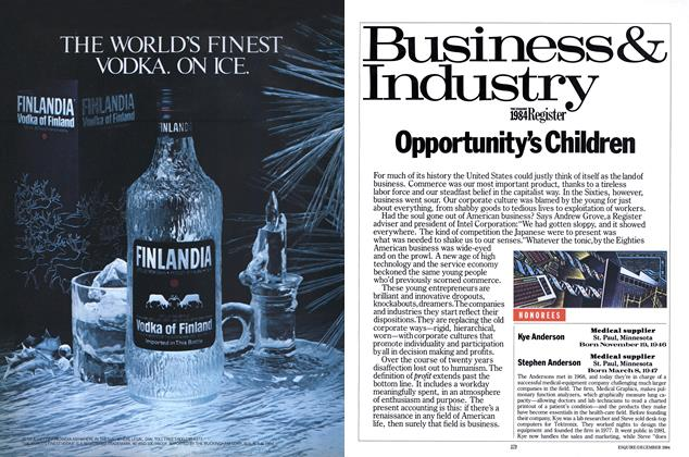 Article Preview: Opportunity's Children, DECEMBER 1984 1984 | Esquire