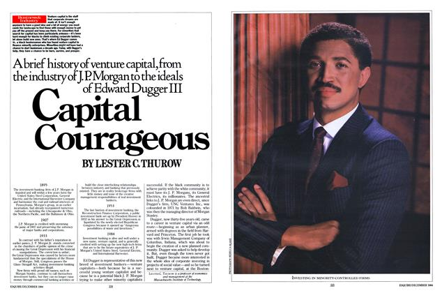 Article Preview: Capital Courageous, DECEMBER 1984 1984 | Esquire