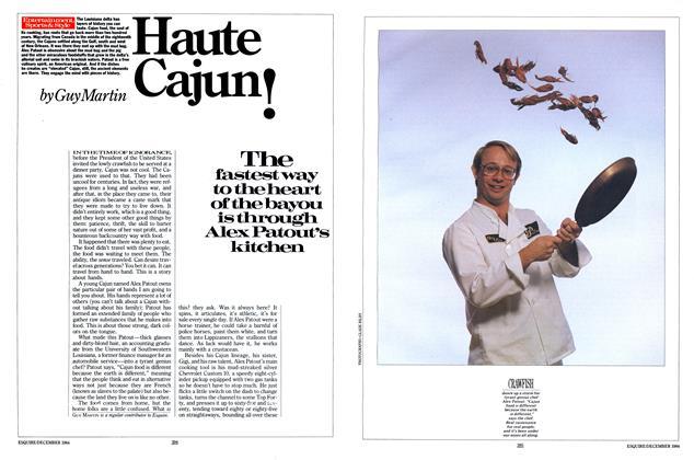 Article Preview: Haute Cajun!, December 1984 | Esquire