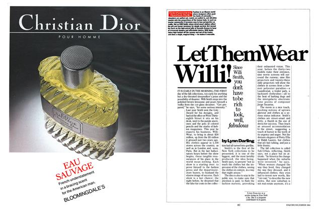 Article Preview: Let Them Wear Willi!, DECEMBER 1984 1984 | Esquire