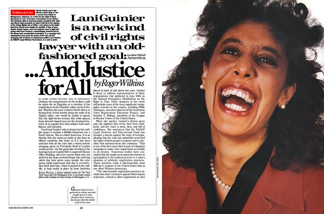 Article Preview: ...And Justice for All, DECEMBER 1984 1984 | Esquire