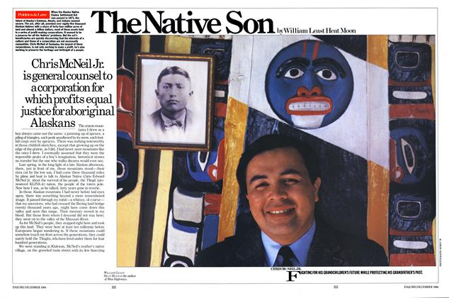Article Preview: The Native Son, DECEMBER 1984 1984 | Esquire