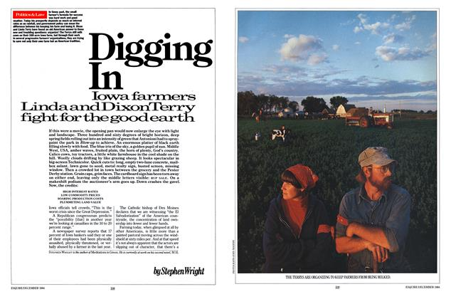 Article Preview: Digging In, DECEMBER 1984 1984 | Esquire