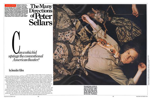 Article Preview: The Many Directions of Peter Sellars, DECEMBER 1984 1984 | Esquire