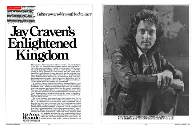 Article Preview: Jay Craven's Enlightened Kingdom, December 1984 | Esquire