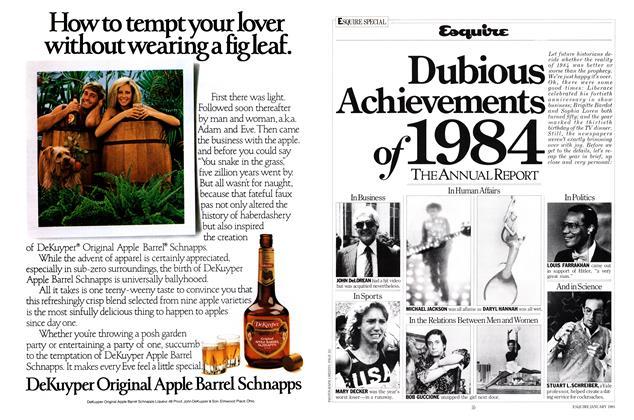 Dubious Achievements of 1984