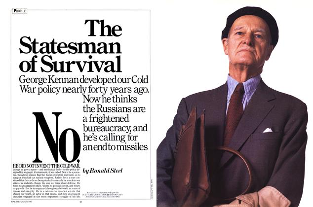 The Statesman of Survival