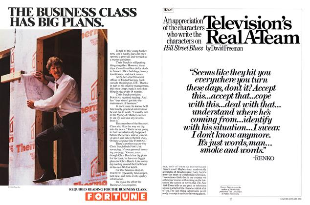 Article Preview: Television's Real A-Team, JANUARY 1985 1985 | Esquire