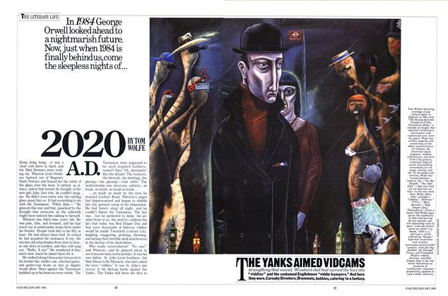 Article Preview: 2020 A.D., January 1985 | Esquire